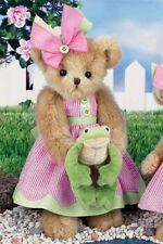 "14"" RILEY & RIBBIT*Bearington Bear*NEW*NWT*Spring/Summer*FROG*Garden*143275"
