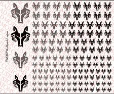 Scale Decals: Star Wars Wolf Pack Waterslide Decals for 1/18 and 1/12 figures