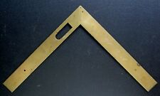 French Brass Folding Sector ruler Measure c.1825