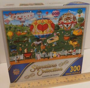Masterpieces Signature Collection FLIGHTS OF FANCY 300 piece jigsaw puzzle