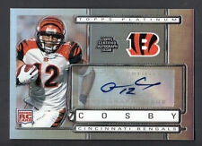 Quan Cosby 2009 Topps Platinum Rookie Autograph Card #158