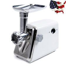 New 1300 Watt Electric Meat Grinder Industrial Meat Grinder Stainless Steel Us