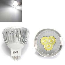 MR16 3W White 3 LED Spotlight LED Light Bulb 12-24V