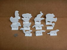 """Airgun Silhouette Targets 15 Animals all 3/16"""" Thick Steel"""