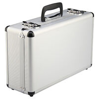 Petit Valise Aluminium Flight Case Box Silver mousse outil Voyage Transport