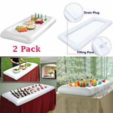 More details for inflatable serving bar salad buffet cooler picnic drink outdoor party camping