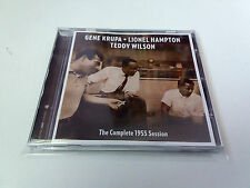 "GENE KRUPA LIONEL HAMPTON TEDDY WILSON ""THE COMPLETE 1955 SESSION"" CD 8 TRACKS"