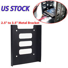 """2.5"""" to 3.5"""" Bay SSD Metal Hard Drive HDD Mounting Bracket Adapter Dock / Tray K"""
