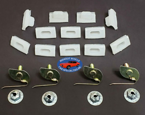 68 1968 Chevelle Maibu Rear Tail Light Lamp Panel Molding Trim Clips 16pcs SK