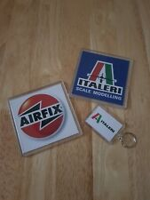 Airfix / Italeri coasters + free keyring. Price is per pair. Free delivery.