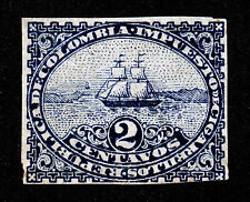 COLOMBIA CIGARETTE TAX REVENUE STAMP 2¢ IMPERF NO GUM