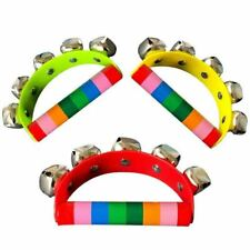 Colorful Hand Bells Jingle Instrument Musical Kids Children Toy Percussion Toy