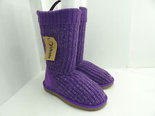 Ukala Women's W80120 Sydney Valerie High Violet Pull On Boots Size 6