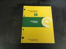John Deere 700 720 and 740 Farm Wagons Operator's Manual   OM-W38905 Issue I7