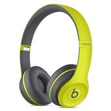 Beats Solo 2 Wireless Headband Wireless Headphones - Shock Yellow