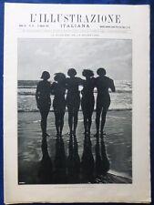 ILLUSTRAZIONE ITALIANA - N. 33/1925- ONDINE - LIDO VENEZIA