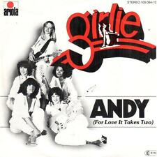 "<2452> 7"" Single: Girlie - Andy / My My Baby"