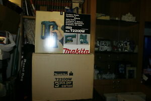 MAKITA CORDLESS STAPLER KIT MODEL: T220DW BRAND NEW!!! NOS T220D  WOW!!!