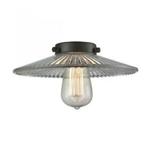 "Innovations Lighting G2 Halophane 10"" Cone Clear Flat Glass"