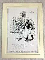 1915 Antico Stampa Johnnie Walker Whisky Pubblicità British Soldier
