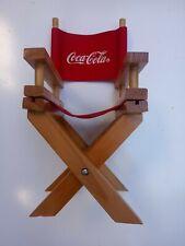 Coca cola Mini Chair 9 inch tall 4 inch wide 1998