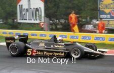 Andretti JPS Lotus 79 ganador belga Grand Prix 1978 fotografía