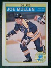 JOE MULLEN  82/83 AUTHENTIC O-PEE-CHEE ROOKIE CARD 307