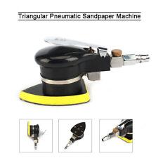 Pneumatic Sandpaper Polisher Triangle Air Power Orbital Hand Sander 10000 RPM