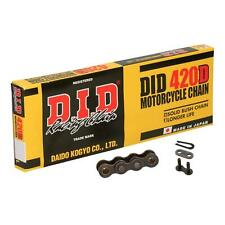 DID 420 D Motorcycle Drive Chain 78 Links with Split Link