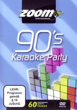 Zoom Karaoke Nineties 90's Karaoke Party DVD - 60 tracks on 2 DVDs