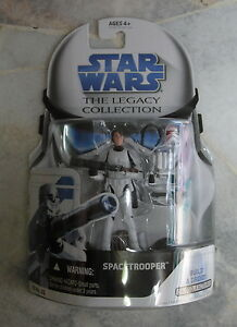 NEW Hasbro Star Wars Legacy Collection SPACETROOPER #32 with Droid Factory Part