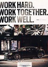 2013 Chrysler 300C Original Advertisement Print Art Car Ad J675