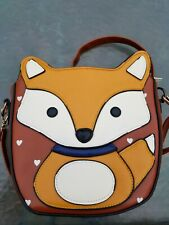 Fox Face Purse Crossbody Bag
