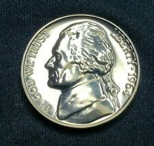 1964 Proof Jefferson Nickel, Gem, Great Coins! Free Ship!