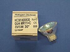 HALOGEN Kaltlichtspiegel-Reflektor Lampe 6V 5W GU4 30° MR11+C HC300600530