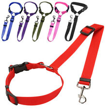 Pet Dog Safety Puppy Car Safe Seat Belts Restrict Rope Nylon Doggy Lead Leash