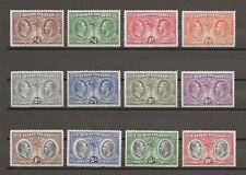 CAYMAN ISLANDS 1932 SG 84/95 MINT Cat £500