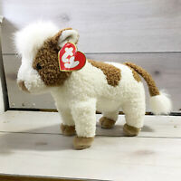 "A82 Ty Classics Jersey Brown Cow Plush! 13"" Stuffed Toy Lovey"