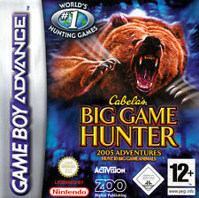-- CABELAS Big Game Hunter 2005 Adventures -- top-Game-NEUF