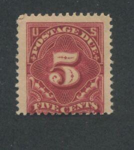 1895 Due Stamp #J41 Mint Lightly Hinged Average Original Gum