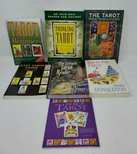 lot of 7 Tarot books - Step by Step, Beginners, Be Your Own Reader, Etc.