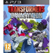 Transformers Devastation PS3 Game - Brand New!