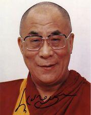 DALI LAMA  Autographed 8x10 Photo (RP)