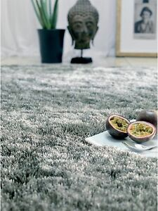 Super Soft Thick Plain Whisper Shaggy Rug Non Shed Deep Pile S-M-L-XL NOW 25% OF