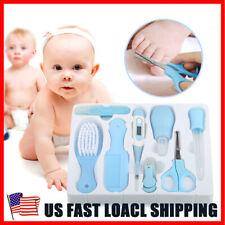 Baby Health Care Sets Hair Nail Brush Thermometer Newborn Kid Grooming Kit