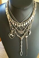 Fantastic  Lot of 6  Mixed  Sterling Silver  Necklaces