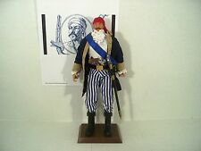 """Jean Lafitte French privateer pirate 12"""" 1/6 scale figure Battle of New Orleans"""