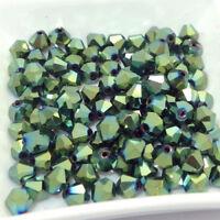 1000pcs 3/4mm Austria Glass Crystal Bicone Loose beads #5301 DIY Jewelry making