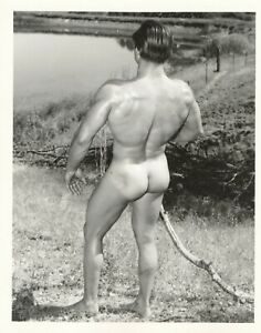 """Gay Interest - Vintage - Male Physique Photos - BRUCE OF LOS ANGELES - """" 4 x 5"""""""