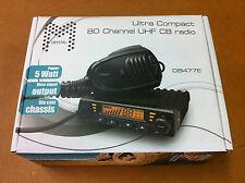 BRAND NEW Crystal DB477E UHF 80 Channel Radio 5 Watt and 3DB Uniden  ANTENNA